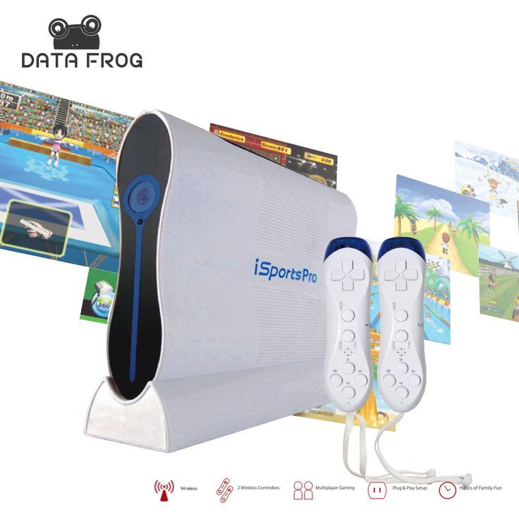 Data katak olahraga teknologi penginderaan tubuh et motion hd tv video game konsol permainan mesin konsol untuk kesehatan anak intelijen