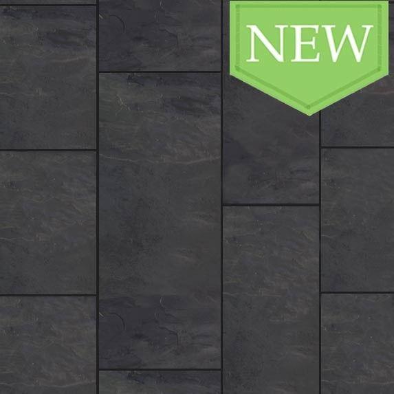 grey tile black grout