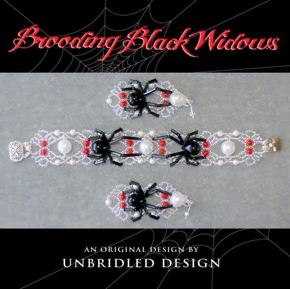 Brooding Black Widows by StaceyLeeG