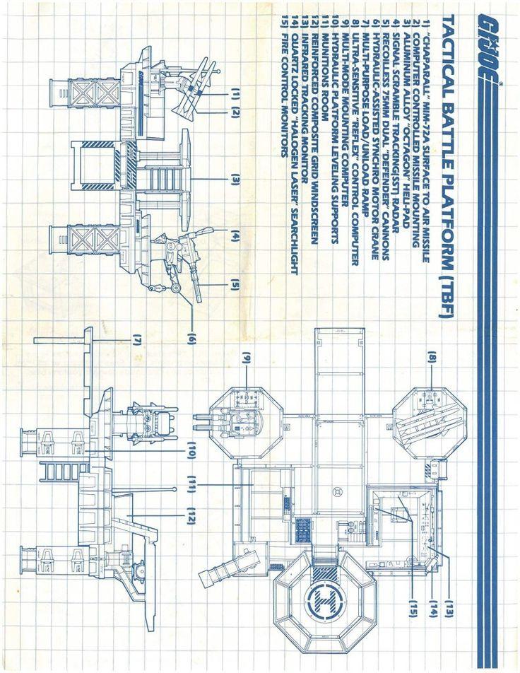17 best images about gi joe blueprints on pinterest