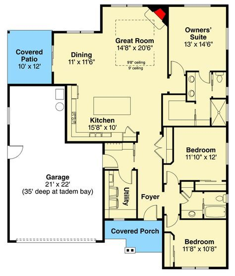 True ranch house plans house plans for True homes floor plans