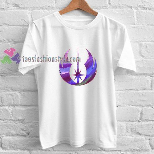 Star Wars Jedi Purple Watercolor shirt gift tees cool tee shirts //Price: $11.99  //
