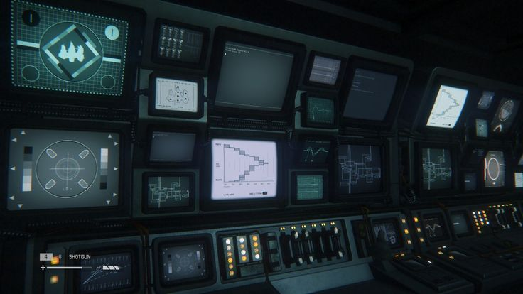 perfectionalism:  Viasciencefictioninterfaces—  Various images showcasing the beautiful interfaces from Alien: Isolation