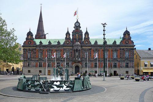 pictures of german cities | Фото 1. Городская ратуша. Швеция ...