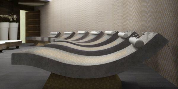 Quattro Stagioni mosaik i spa by Pronto Kakel i Malmö
