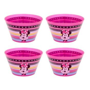 Disney Minnie Mouse Kid's 4-pc. Melamine Bowl Set by Jumping Beans