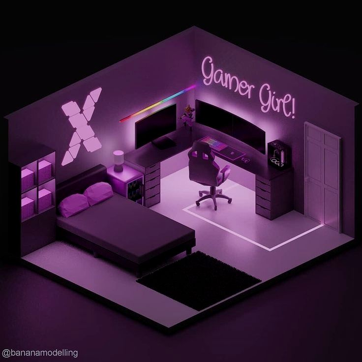 Roomforgaming Small Gaming Bedroom Setup 17 Game Room Ideas On A Budget Bedroom Setup Video Game Room Design Game Room Design Cheap gaming bedroom ideas