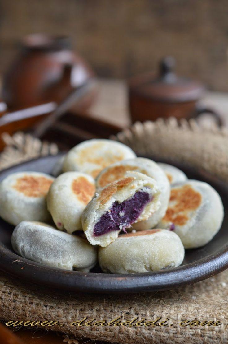 Diah Didi's Kitchen: Membuat Bakpia Ubi Ungu, Lebih Mudah dan Praktis Dengan LOCK&LOCK E-Cook Deco Fry Pan