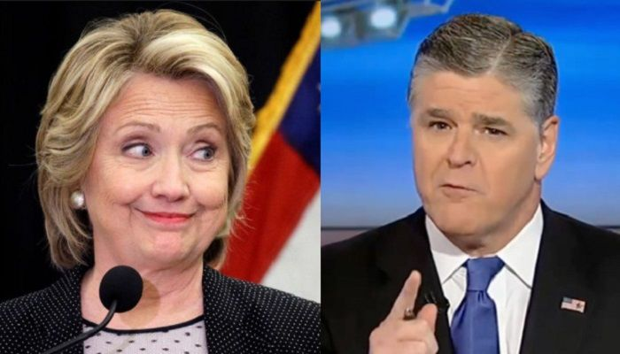 "Fox News host Sean Hannity discussed the latest findings on Hillary Clinton's private email server, saying ""they should be nervous"" and that ""people will be going to jail."""