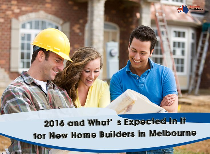 Do you know what's expected  for #NewHomeBuildersinMelbourne in 2016. Know from here.