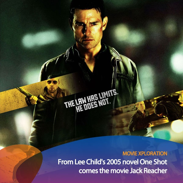 Kalau kamu suka film action, ini film action yang cukup seru buat kamu tonton di bioskop. Film Jack Reacher diadaptasi dari novel berjudul One Shot karangan Lee Child pada tahun 2005 dan dibintangi Tom Cruise & Rosamund Pike.    *as posted on XL Rame