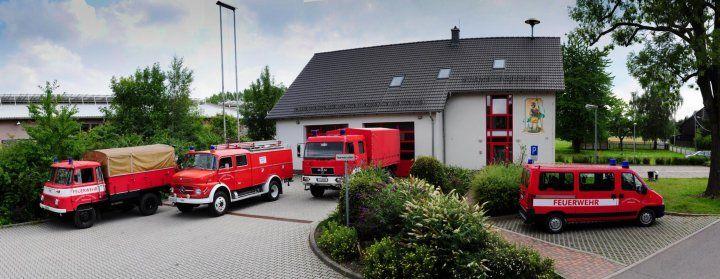 Die Freiwillige Feuerwehr Culitzsch, Germany
