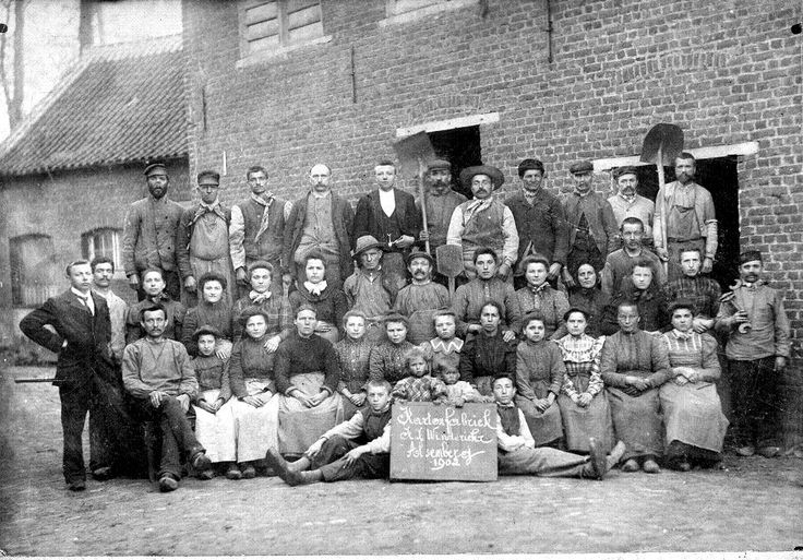 In the industrial revolution women, children, and men all worked in factories.