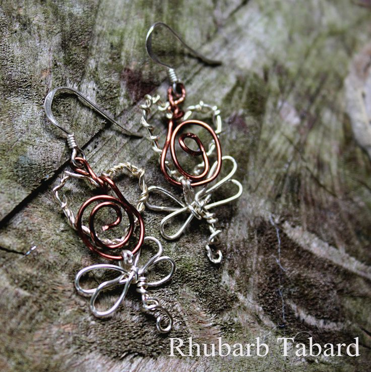Dragonfly earrings,  earrings, dragonfly, silver earrings,  sterling silver hook , handmade jewellery, unique earrings, dragon jewellery by RhubarbTabard on Etsy