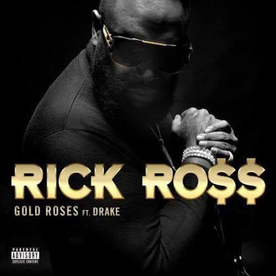 Rick Ross - Gold Roses Lyrics | Drake | Song For Life in