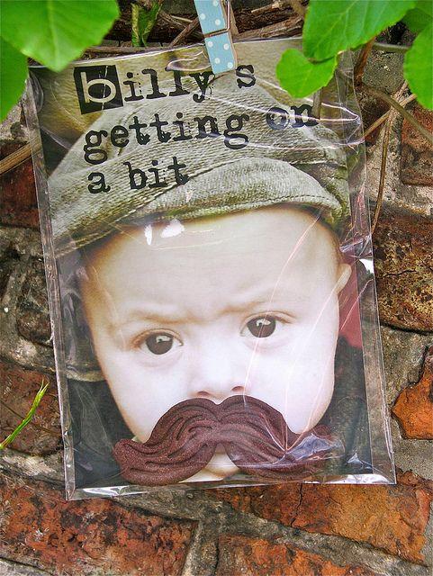 Billy is 1: great idea!