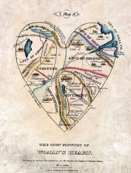 Map of Woman's Heart