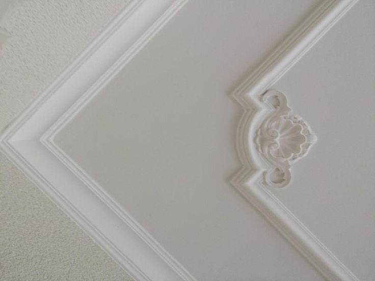 62 best plafond stucwerk images on pinterest ceiling for Plafond sierlijst