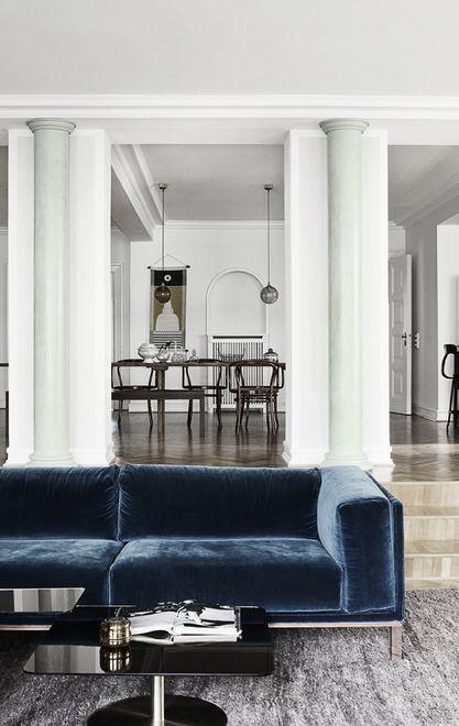 Blue and green chique - via cocolapinedesign.com