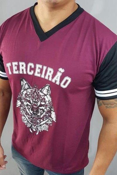 Camiseta terceirão lobo  ec9da400c27