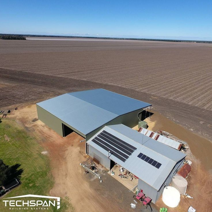 Large machinery shed we bulit out at Dalby NSW #dalby #dalbynsw #machineryshed #farmshed #farmlife #farms #farming #farmers #rural #nsw #techspanbuildings #farm #agriculture #farmer #johndeere #tractor