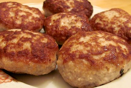 Котлеты | рецепты из мяса | Prigotovim.org