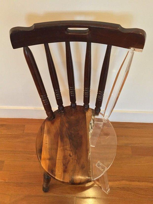 Réparation de vieilles chaises «My New Old Chair» par Tatiane Freitas - Journal du Design