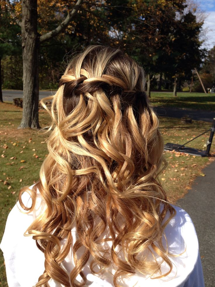 Braided hair for semi formal dance