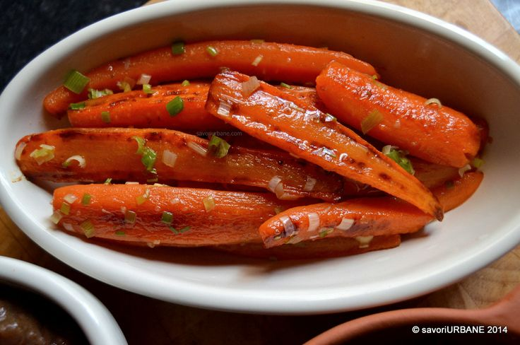 Savori Urbane | Escalop de vitel cu salata de linte si morcovi glasati | http://savoriurbane.com