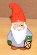 ROLF BERG Torshalla Sweden Swedish Folk Art Pottery Gnome Elf Santa Figurine (C)