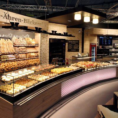 Aichinger: Shopfitting products for bakeries: AICHINGER