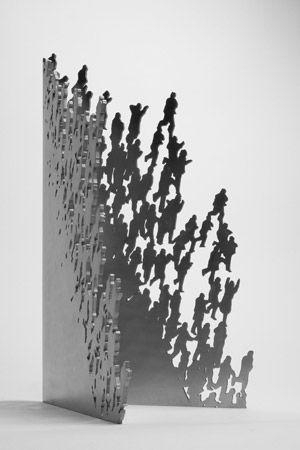 Juan Genovés : Escultura