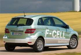Mercedes B-Class F-Cell Hydrogen Car is Ready to Roll #ecofriendly trendhunter.com
