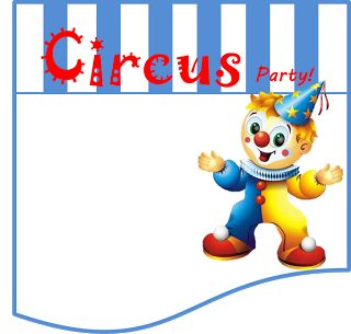 Funny Clown Free Printable Mini Kit