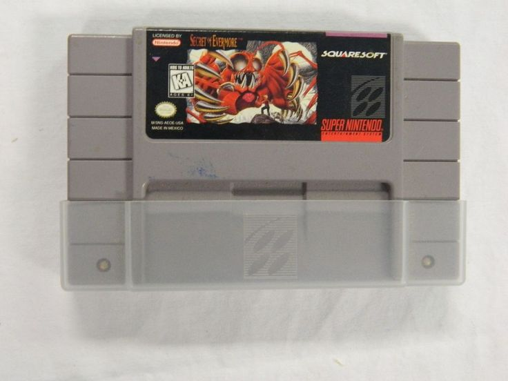 Secret of Evermore (Super Nintendo Entertainment System, 1995)