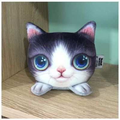 Kitten Big Eyes Cat Pattern Decorated Simple Design Purple. Cute and elegance REPIN if you agree.😊 Only 101 IDR