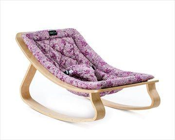 LEVO rocker / bouncer vippestolen i 'Frou Frou Pink/Retro Rosa' har en naturlig gynge bevegelse som forsiktig følger bevegelsene til baby. Praktisk og stilig fra franske barnemøbler designer CHARLIE CRANE. Kr 1699 Frifrakt Kr 1699 Frifrakt