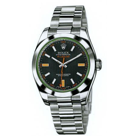 http://www.horloger-paris.com/fr/2974-rolex  Rolex Oyster Perpetual Milgauss Acier ...