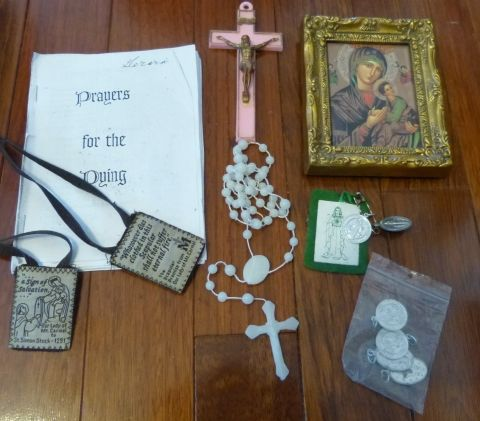 Prayers For The Dying Kit - Keep this beautiful booklet in a ziplock bag with…