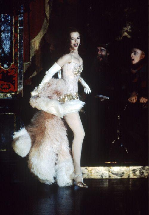 Image result for nicole kidman moulin rouge wedding dress