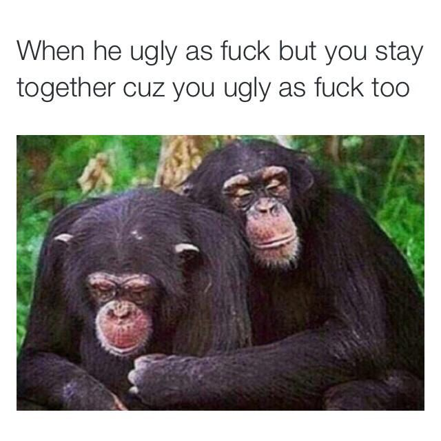 Ugly couples lol