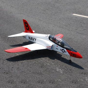 Goshawk T-45 950mm Wingspan 64mm EDF Jet EPO RC Airplane Kit Sale - Banggood.com