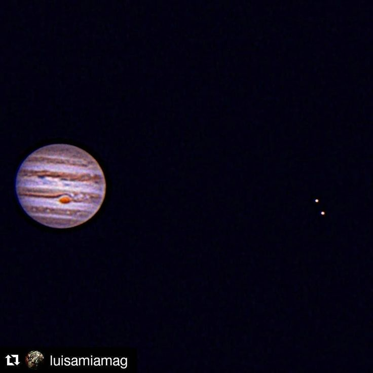 Pure pleasure by astronomiavzla #astrophotography #contratahotel (o) http://ift.tt/1SFX9b5 foto de Júpiter!! #Repost @luisamiamag with @repostapp  Jupiter!  #jupiter #jupiterdesderd #rd #gasgiant #planet #planeta #verybigplantet #cosmos #universo #universe #skylovers #skypics #skyatnight #skywatcher #astronomia #astronomy #astrofotografia  #astrophoto #cosmos #nasa #oriontelescopes #orionskyquestxt8  #orionstarshoot5mp @astrodom1 @oriontelescopes