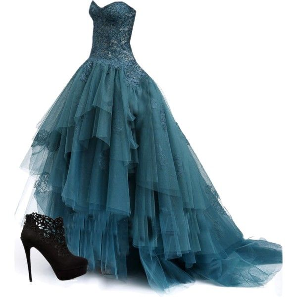 Ball Dress by gabrap on Polyvore featuring polyvore, fashion, style and Forever New