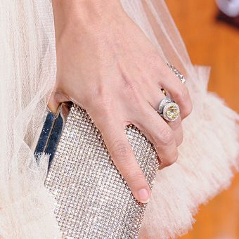 Carrie Underwood's engagement ring the bling says it all!