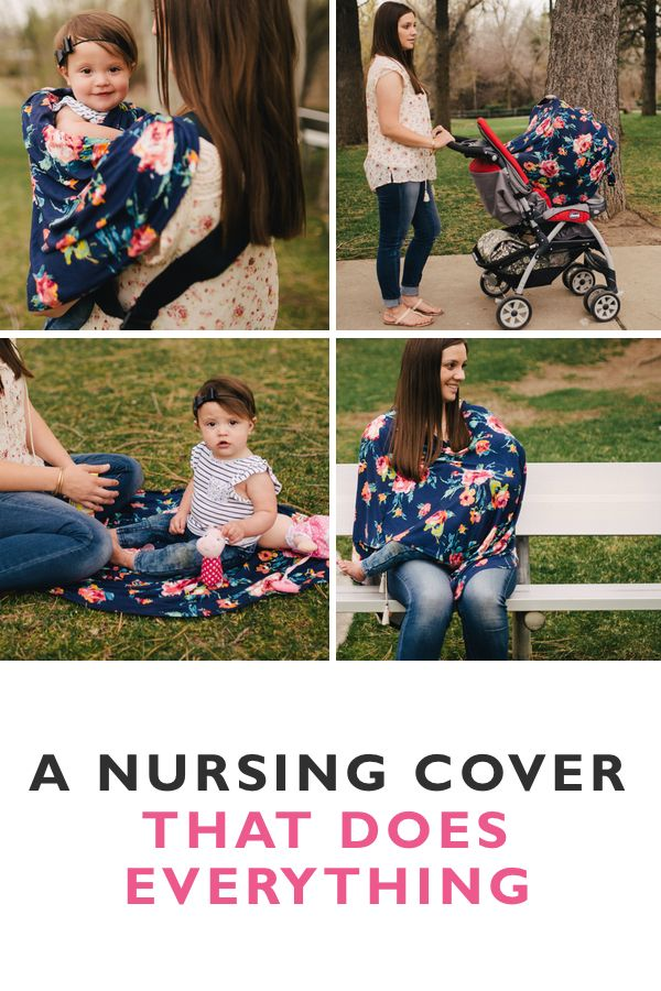 Nurse confidently in public, protect your baby from the sun, and look stylish while you're at it. With countless styles and uses, you'll love these nursing covers. Click the image to see why moms around the globe are obsessed...