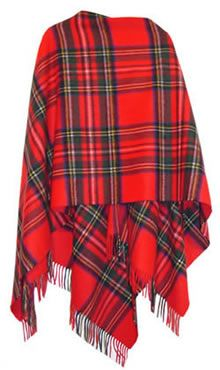 "My ""Royal Stewart"" tartan Shawl..."