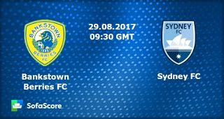 live streaming sports tv free   FFA Cup   Bankstown Berries FC Vs. Sydney FC   live stream   28-08-2017