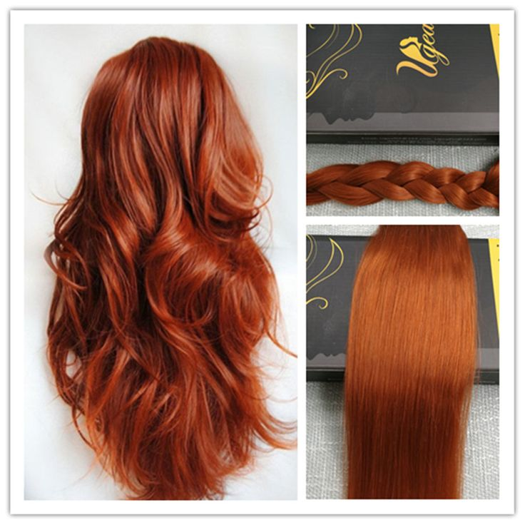 106 best clip in hair extensions images on pinterest blondes 6a brazilian copper 100 remy silky one piece clip in human hair extensions pmusecretfo Images