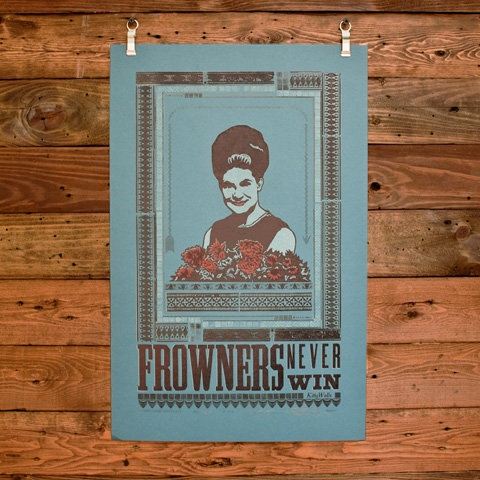 love this hammerpress poster of kitty wells